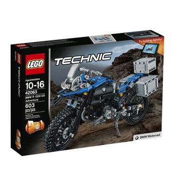 Technic-Bmw-R-1200-Gs-Adventure-42063-Preto-e-Azul-Lego