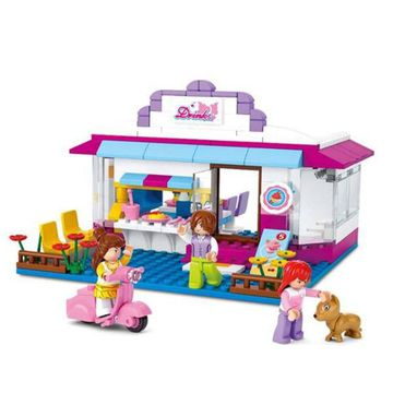 Blocos-New-Girls-Dream-Cafe-226pcs-Multikids-BR902